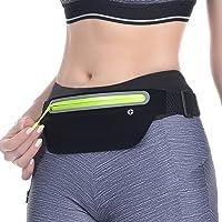 TEVHVIDA Running belt, Ultra light bounce waist bag, Fitness training belt, Sports waist bag for exercise, Adjustable…