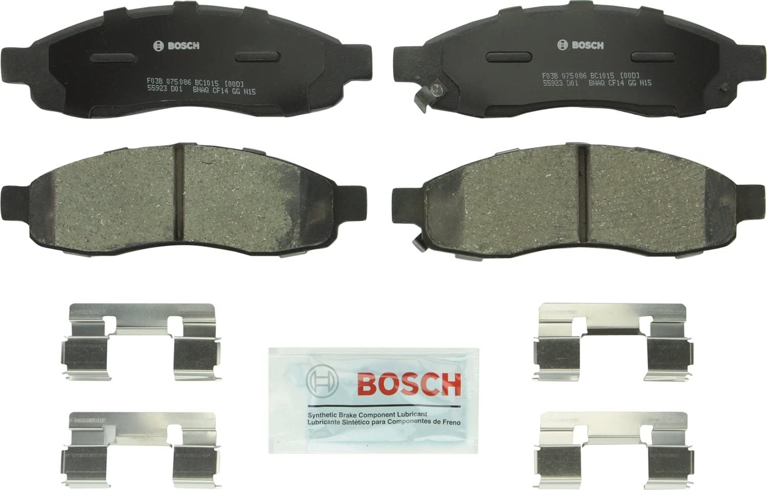 2004-2007 QUEST Front and Rear Ceramic Brake Pads