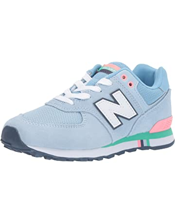 326948fe8614 New Balance Girls' 574 Trainers