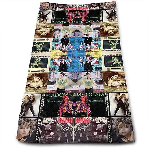 Toallas de mano para el lavavajillas, Madonna Collage toalla de ...