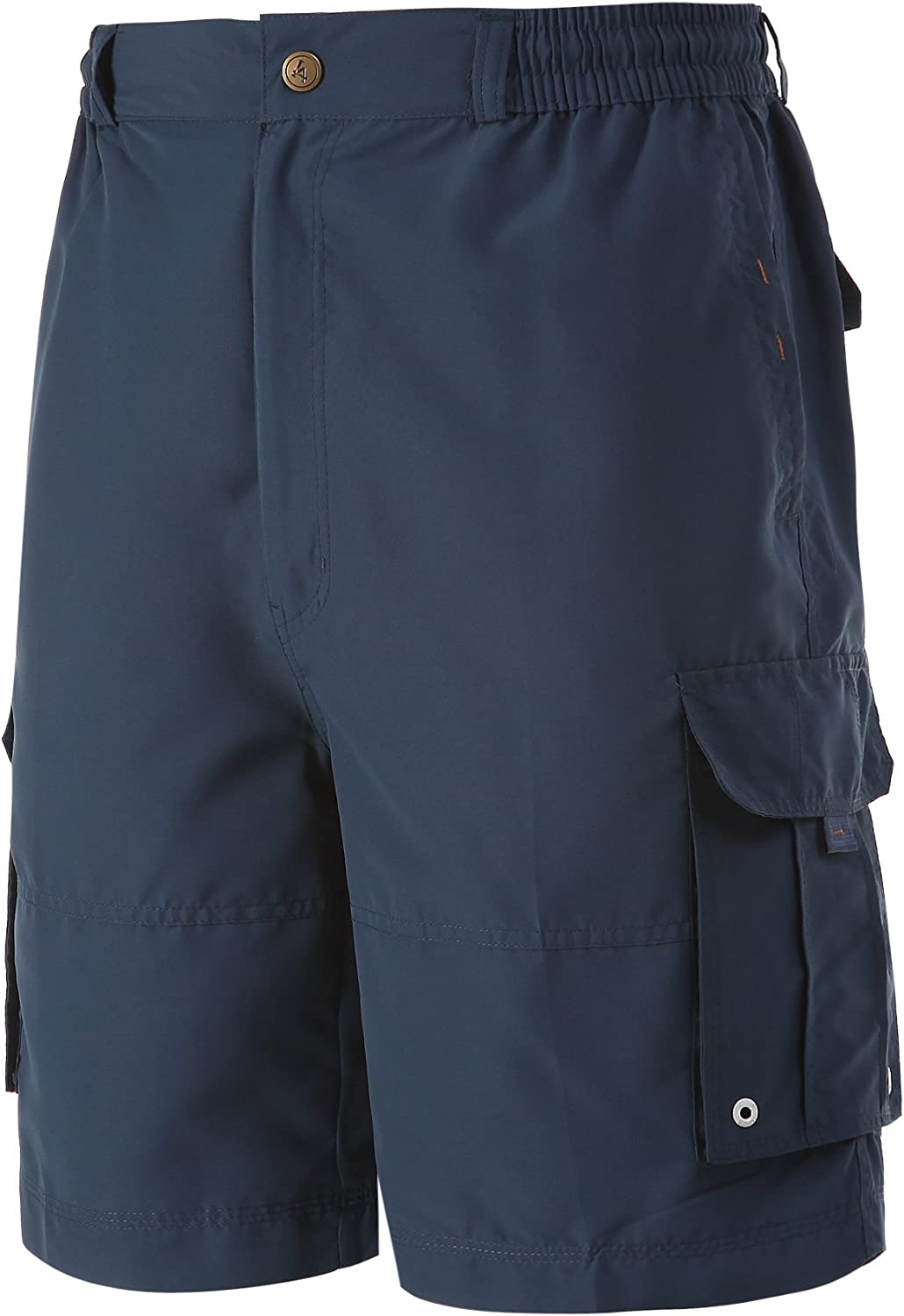 A.WAVE Outdoor Sports Cargo Short Elastic Waist Flat Front Quick Dry/Big & Tall Swimming, Hiking, High-Performance