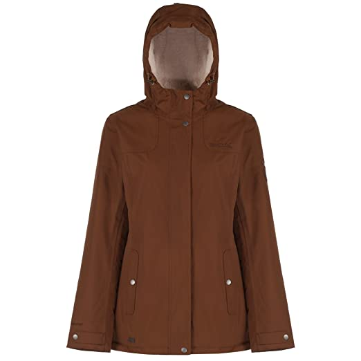 Regatta Great Outdoors Womens/Ladies Heritage Brodiaea Waterproof Jacket (14 US) (Saddle
