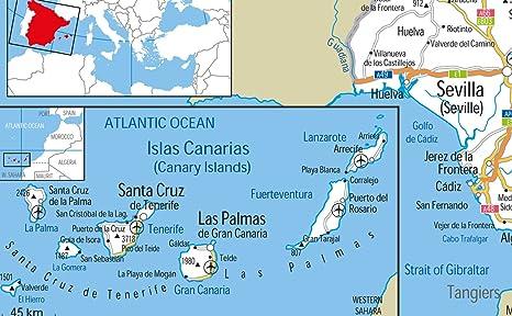 España carreteras mapa - Vinilo - 130 x 180 cm: Amazon.es ...