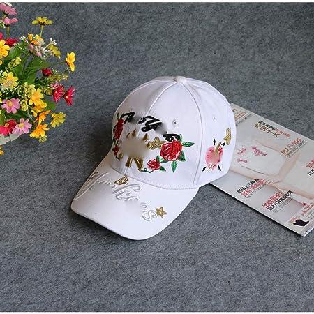 zhuzhuwen Versión Coreana de la Carta Rosa Abeja Gorra de béisbol ...