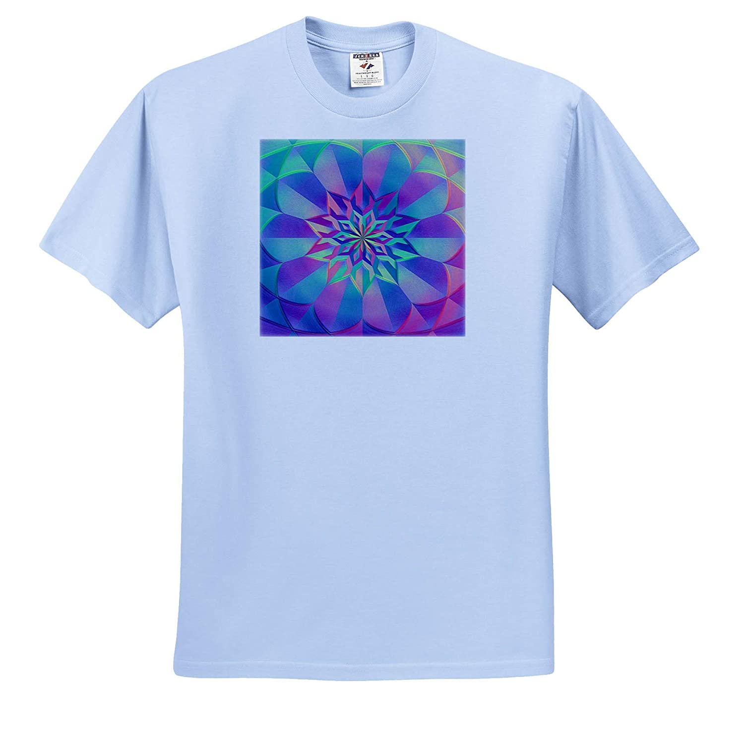 3dRose Andrea Haase Graphic Art T-Shirts Abstract Digital Art in Pastel Colors
