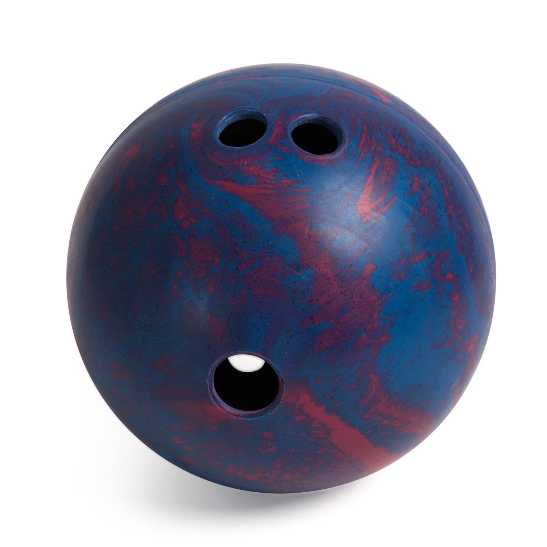 Champion Sports Rubber Bowling Ball: Lightweight Soft Ball for Training & Kids Games