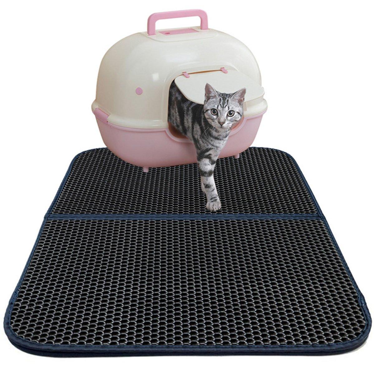 Rectangle UHeng Pet Cat Litter Mat Waterproof Puppy Pad 30  X 23