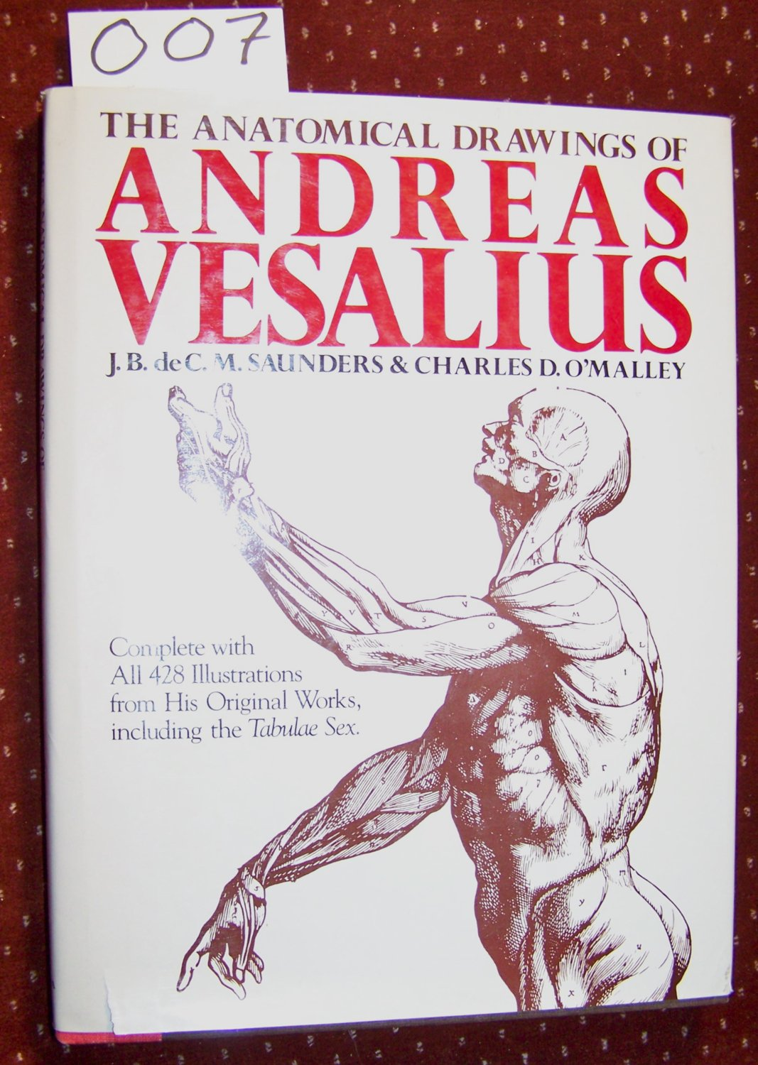 The Anatomical Drawings of Andreas Vesalius: With Annotations and ...
