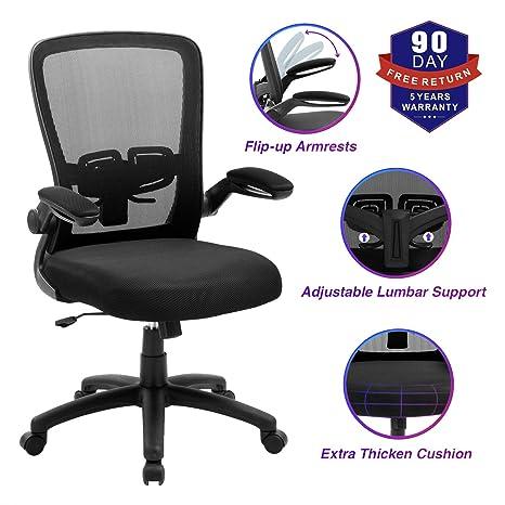 Amazon.com: Silla de oficina, ZLHECTO silla de escritorio ...