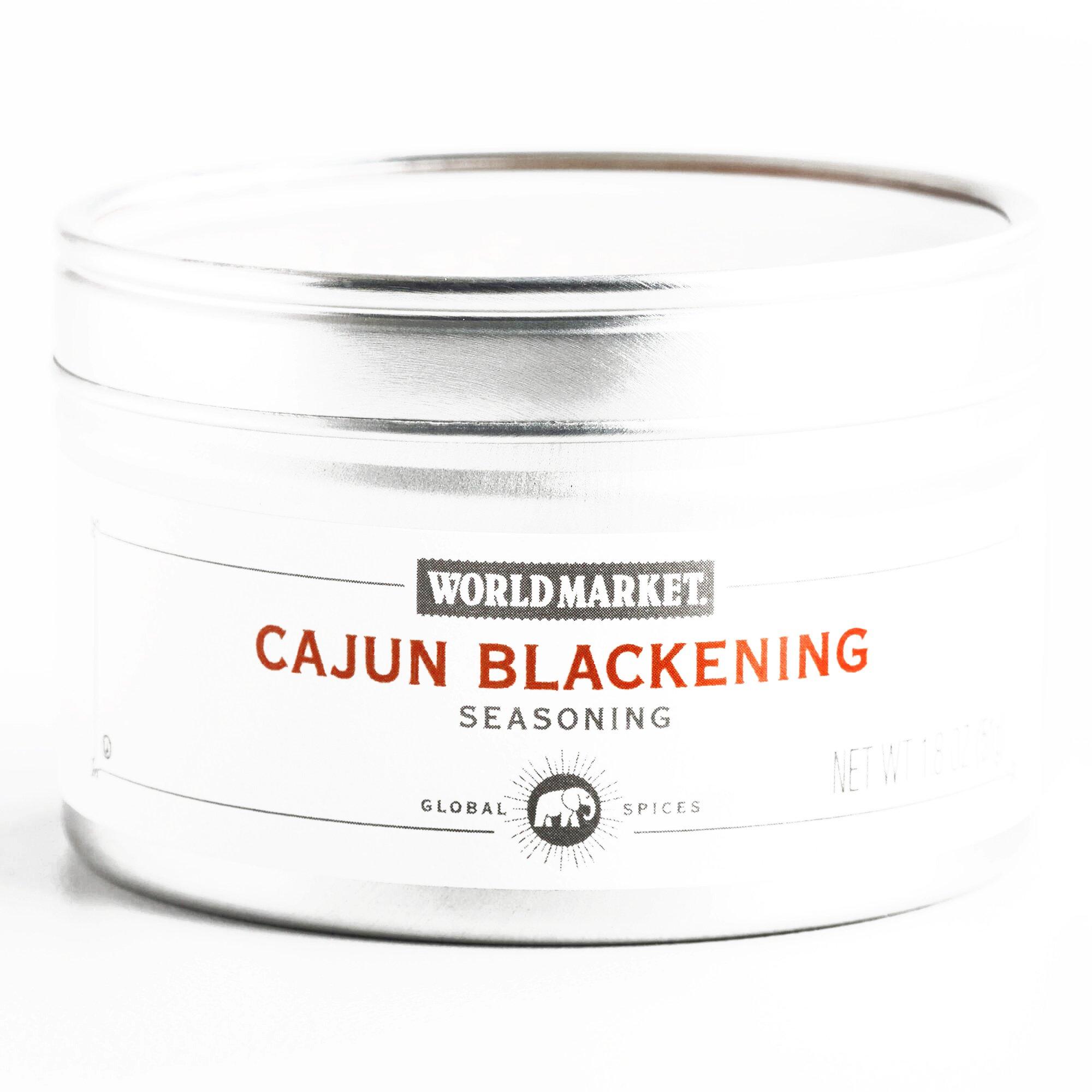 Cajun Blackening Seasoning 1.8 oz each (3 Items Per Order, not per case)