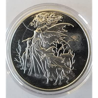 Amy Brown collection 1 oz .999 silver Proof Red Queen w/ fairy Dusk & unicorn: Industrial & Scientific