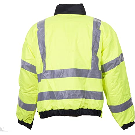 5.11 Tactical 3 in 1 Reversible High Vis Parka Jacket Small Black Yellow:  Amazon.co.uk: Clothing