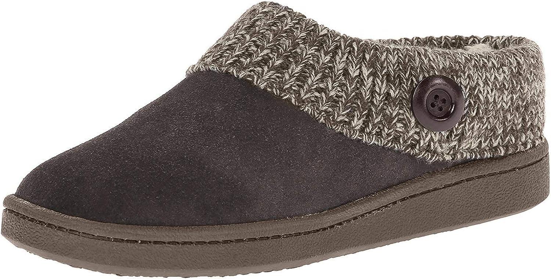 Clarks Women's Knit Scuff Slipper Mule