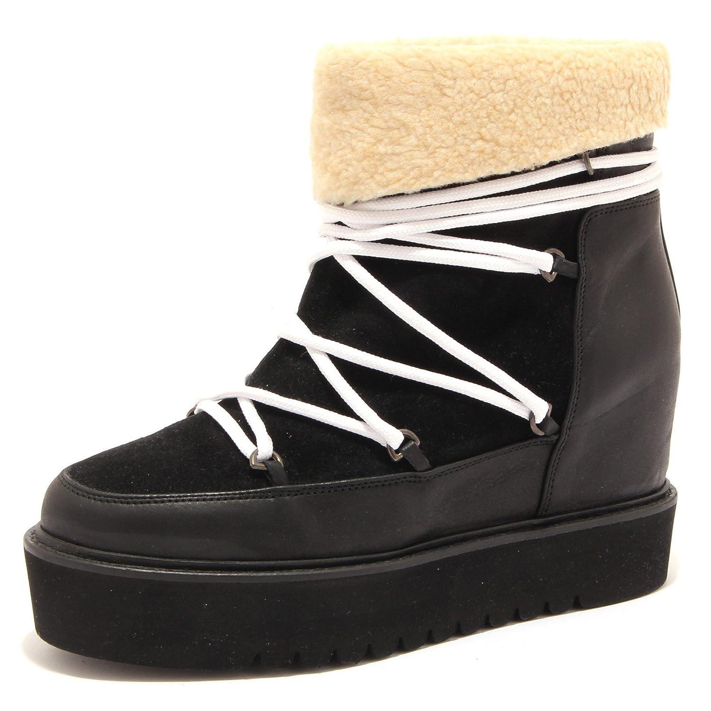 1241M DOPOSCI DONNA neri PALOMITAS saovage stivali scarpe