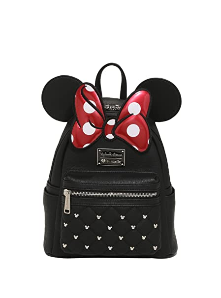 965d5db8e1 Image Unavailable. Image not available for. Color  Loungefly x Disney  Minnie Mouse Mini Backpack