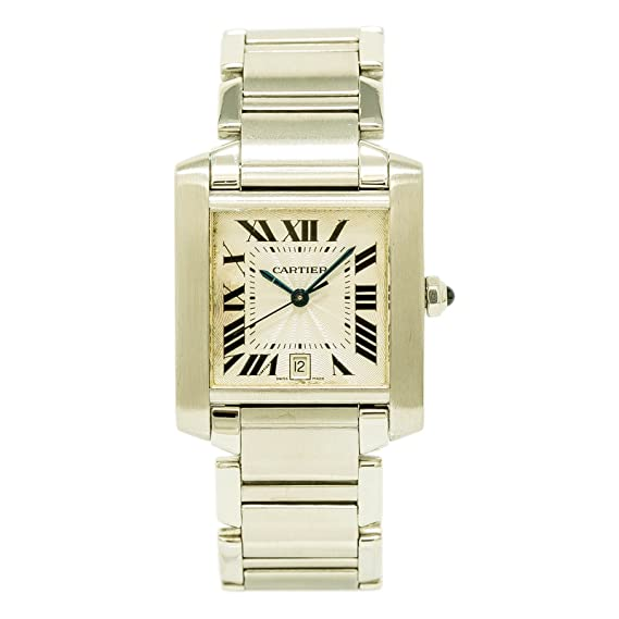 68a2a88849951 Cartier Tank Francaise Quartz Mens Watch 2302 (Certified Pre-Owned)  Cartier   Amazon.ca  Watches