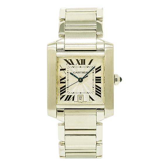 Cartier Tank Francaise Cuarzo Mens Reloj 2302 (Certificado) de Segunda Mano