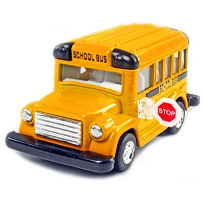 "KinsFun 4"" Display School Bus: Toys & Games"