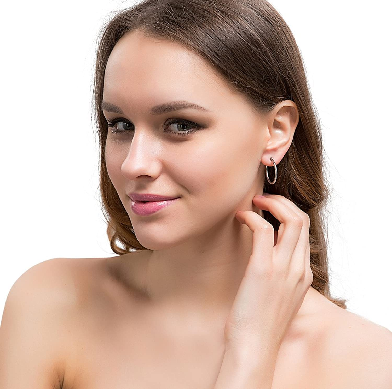Jstyle Jewelry Womens Earrings Stainless Image 3