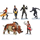 Shop Disney Marvel Black Panther Figure Set - Figurine Play Set - Cake Topper