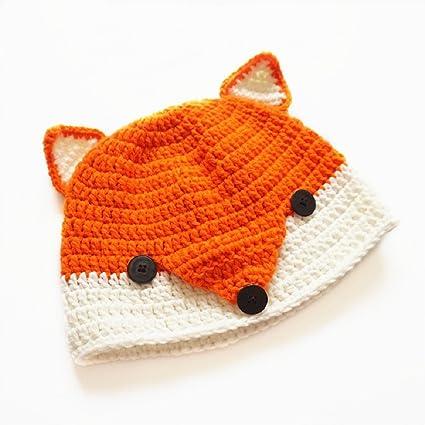 Amazon Ikevan Baby Hat Baby Wool Knitted Fox Hats Baby Girls