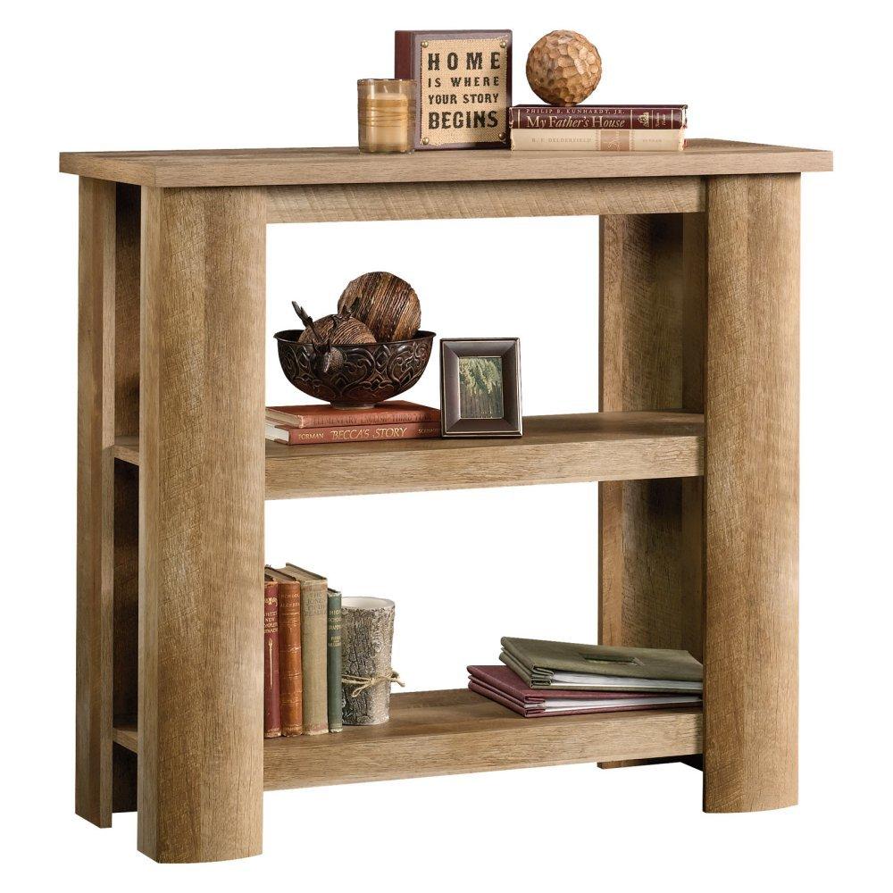 Amazon: Sauder Boone Mountain 2 Shelf Bookcase In Craftsman Oak:  Kitchen & Dining