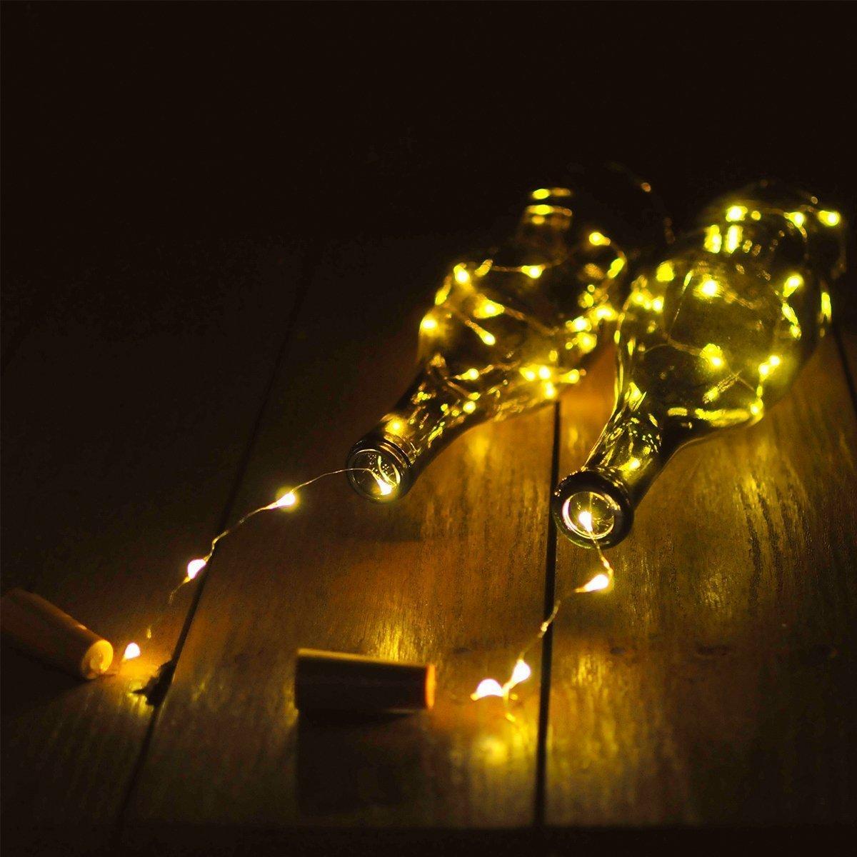LED Flaschen-Licht BestTrendy Flaschenlicht Weinflaschen Lichter 6 ...