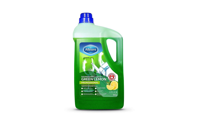 Albiore Lavavajillas a Mano, Aroma Verde Limón - 5000 ml: Amazon ...