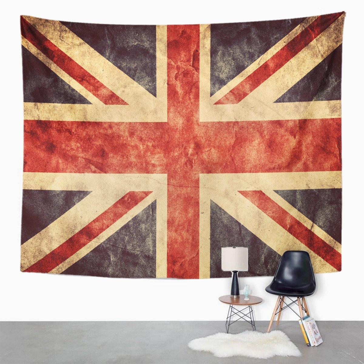 Breezatタペストリーのイギリスユニオンジャックグランジ国旗