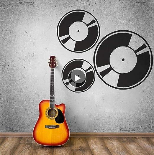 Lkfqjd Pegatinas De Pared Desmontables Music Art Musician Record ...