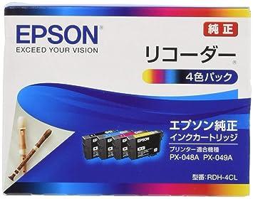 233239894b Amazon | EPSON 純正インクカートリッジ RDH-4CL 4色セット | エプソン ...