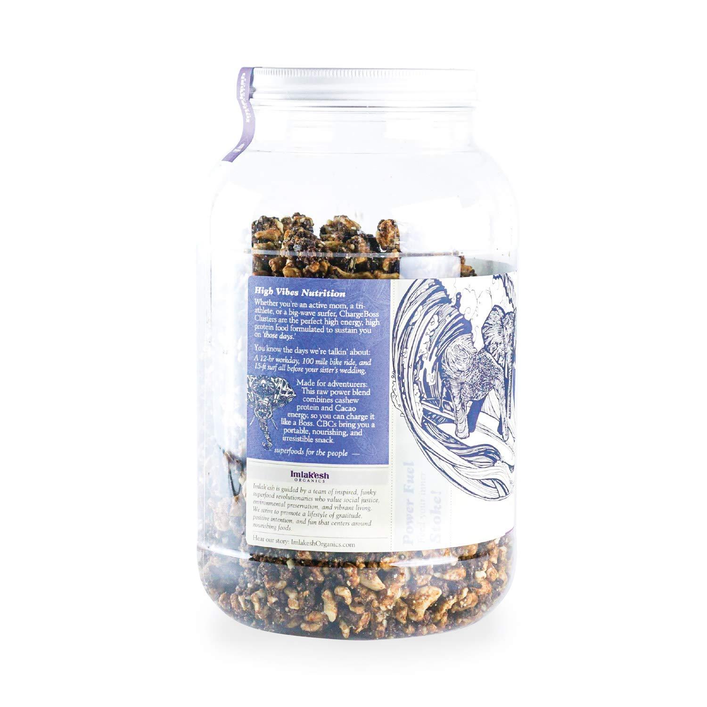 Imlak'esh Organics ChargeBoss Clusters Snack, 3-Pound Gallon by Imlak'esh Organics (Image #2)