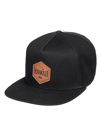 cheaper 6942f 84acd Quiksilver Men s Original Roots Snapback Adjustable Hats,One Size,Black