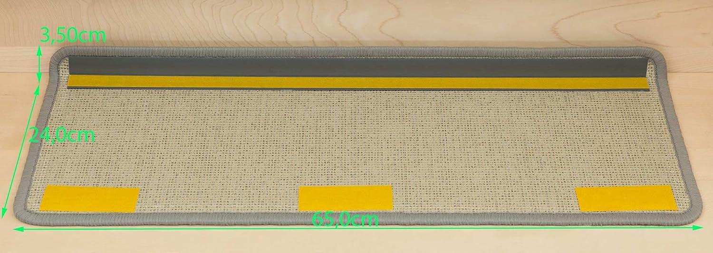 Kettelservice-Metzker Stufenmatten Monza Monza Monza Rechteckig in Versch. Set Varianten & Farben - Braun 28 Stück B01G3QNM2M Stufenmatten c35444