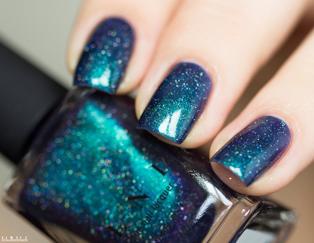 Amazon.com : ILNP Interstellar - Navy, Teal, Purple Holographic Nail ...