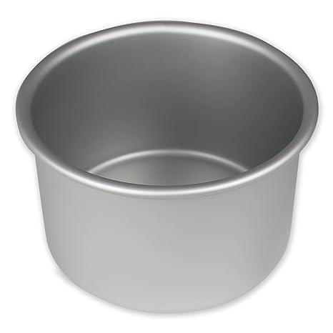 PME Molde para Pastel Redondo de Aluminio Anodizado Profundidad de 5 x 3-Pulgadas