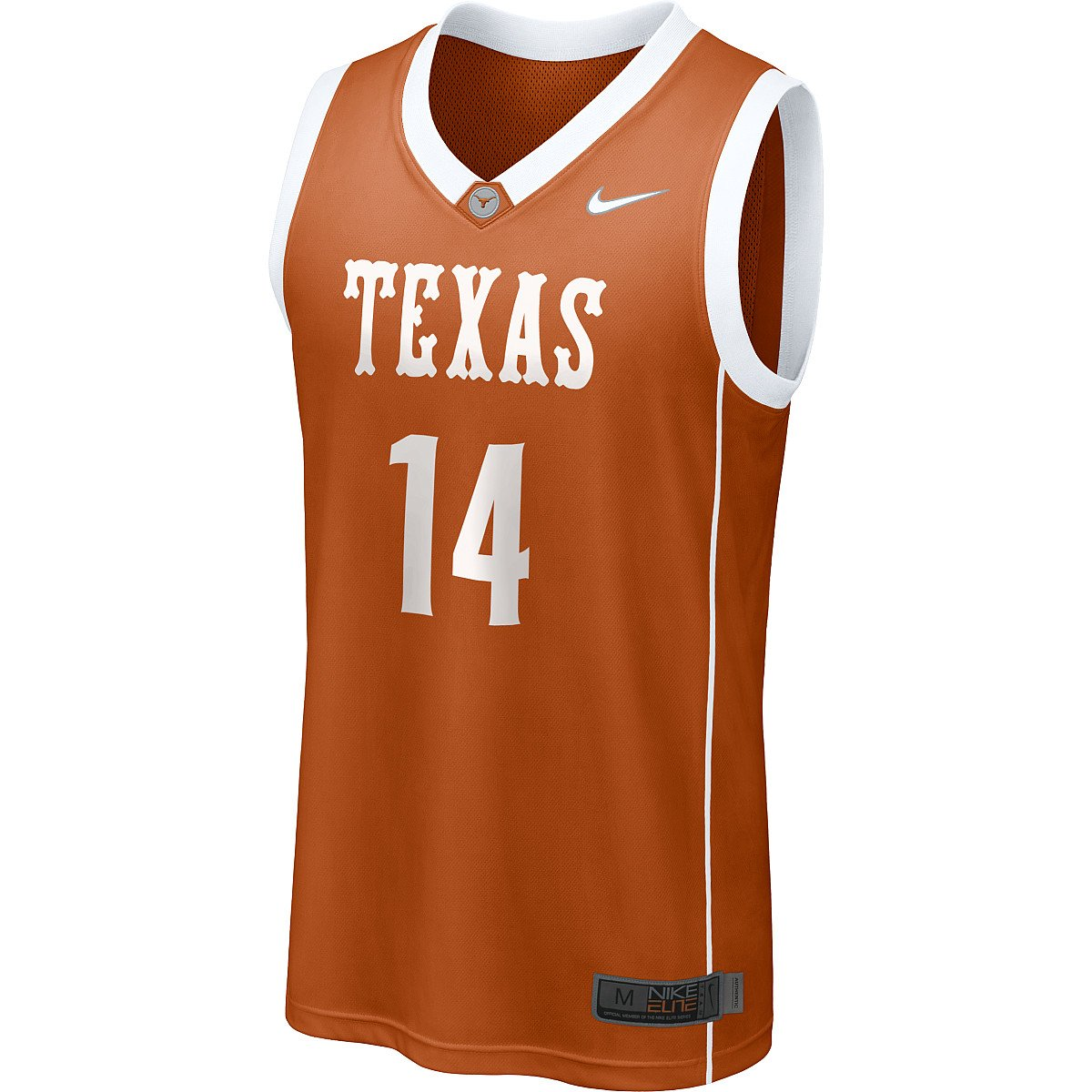 6fd23f7d391 60%OFF Nike Texas Longhorns Replica Basketball Jersey 2 XLarge ...