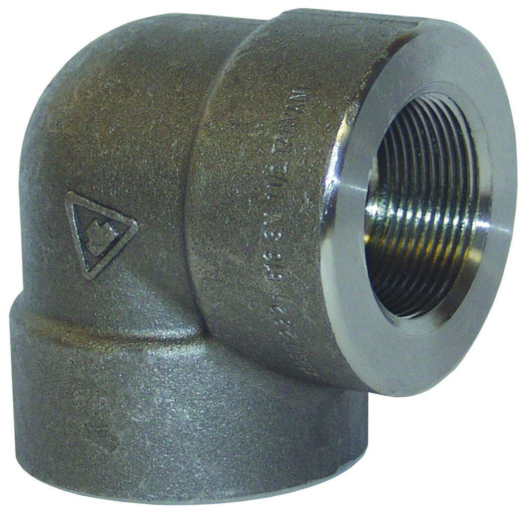 1 ID Dixon EL90100FS 1 FNPT Threaded 90/° Elbow 2000# Forged Steel 1 ID