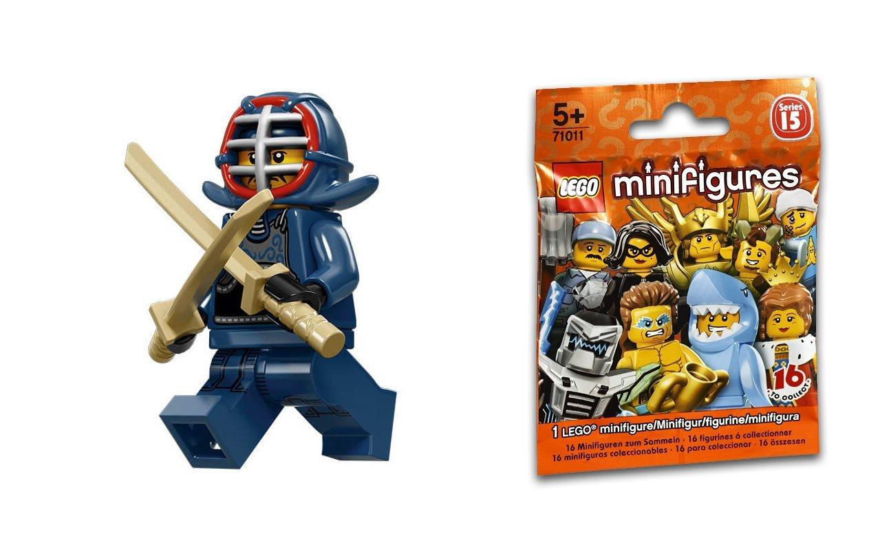 12 Kendo Fighter Baukästen & Konstruktionsspielzeug Lego Minifigure Series 15-71011 LEGO Bau- & Konstruktionsspielzeug