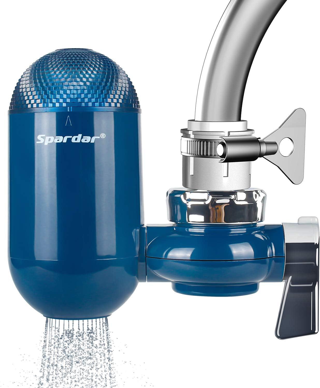 Spardar Faucet Water Filters,Kitchen & Bath Tap Water Filter Multi Layer Ceramics Filter Cartridge: Home & Kitchen