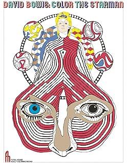 Amazon Com David Bowie Starman A Coloring Book 9780859655507