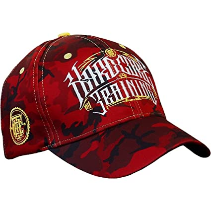 Hardcore Training Cap Camo Red Gorra para Hombre Sombrero: Amazon ...