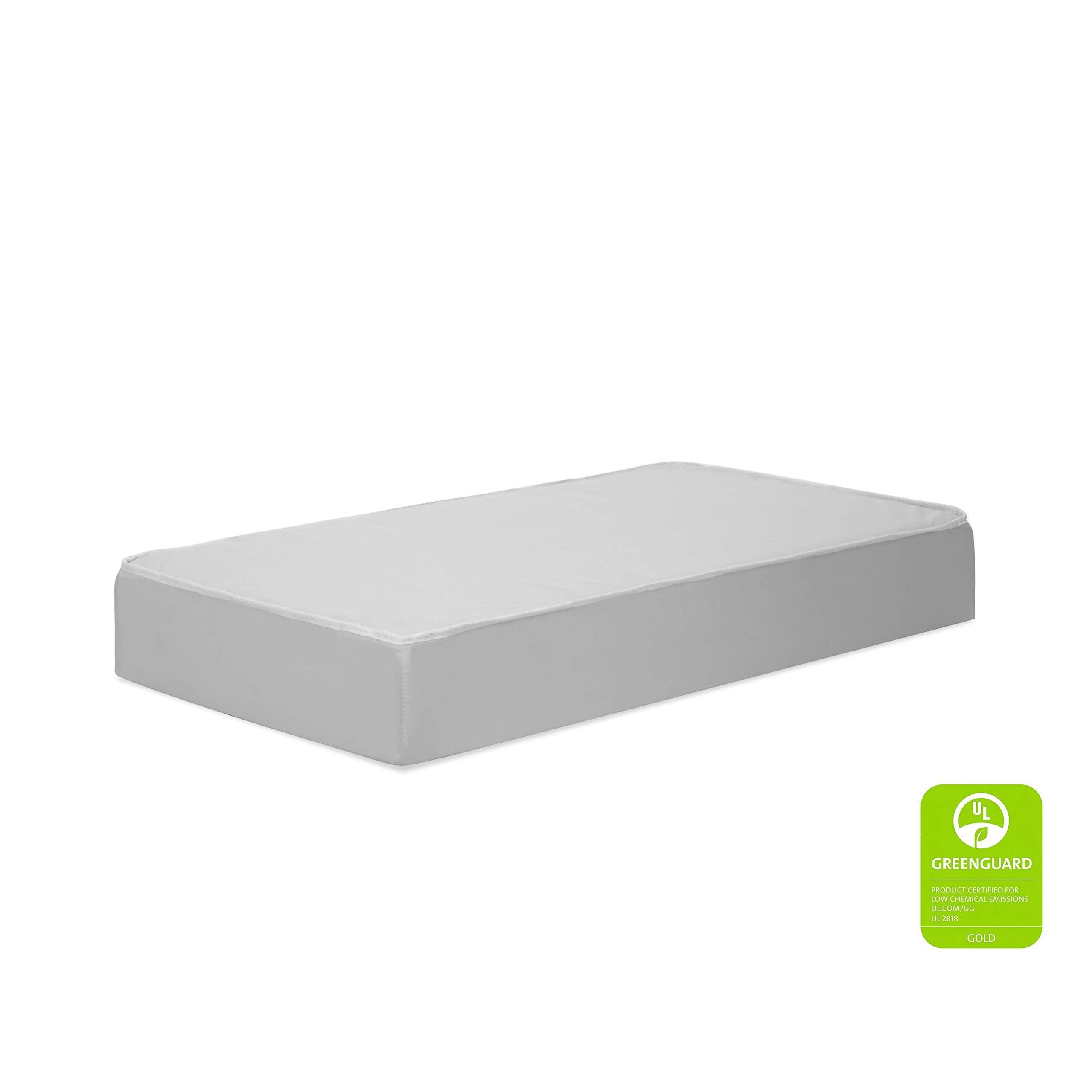 DaVinci Complete Slumber Waterproof MINI Crib Mattress | Firm Support | GREENGUARD Gold Certified | Lightweight | 100% Non-Toxic by DaVinci