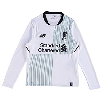 Image Unavailable. Image not available for. Color  New Balance 2017-2018 Liverpool  Away Long Sleeve Football ... fef8b574c