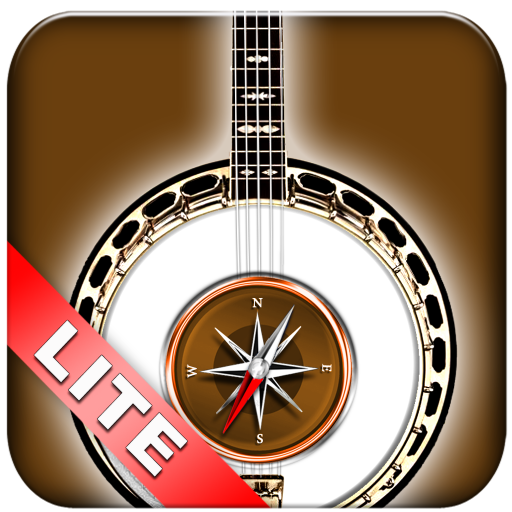 Banjo Chrods Compass Lite: lots of chord charts (Banjo Tenor Play Learn)