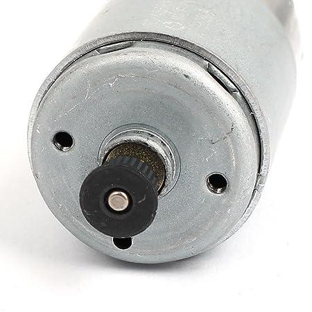 eDealMax DC12V 2700 rpm 32 mm Diámetro de caja de cambios eléctrico energía eólica motor del engranaje - - Amazon.com