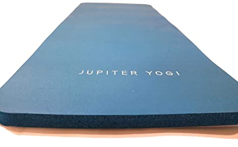 Jupiter Yogi Round and Rectangular Knee Pads Portable Elbow Pad for Yoga Floor Exercises Workout Pilates Gardening Cleaning