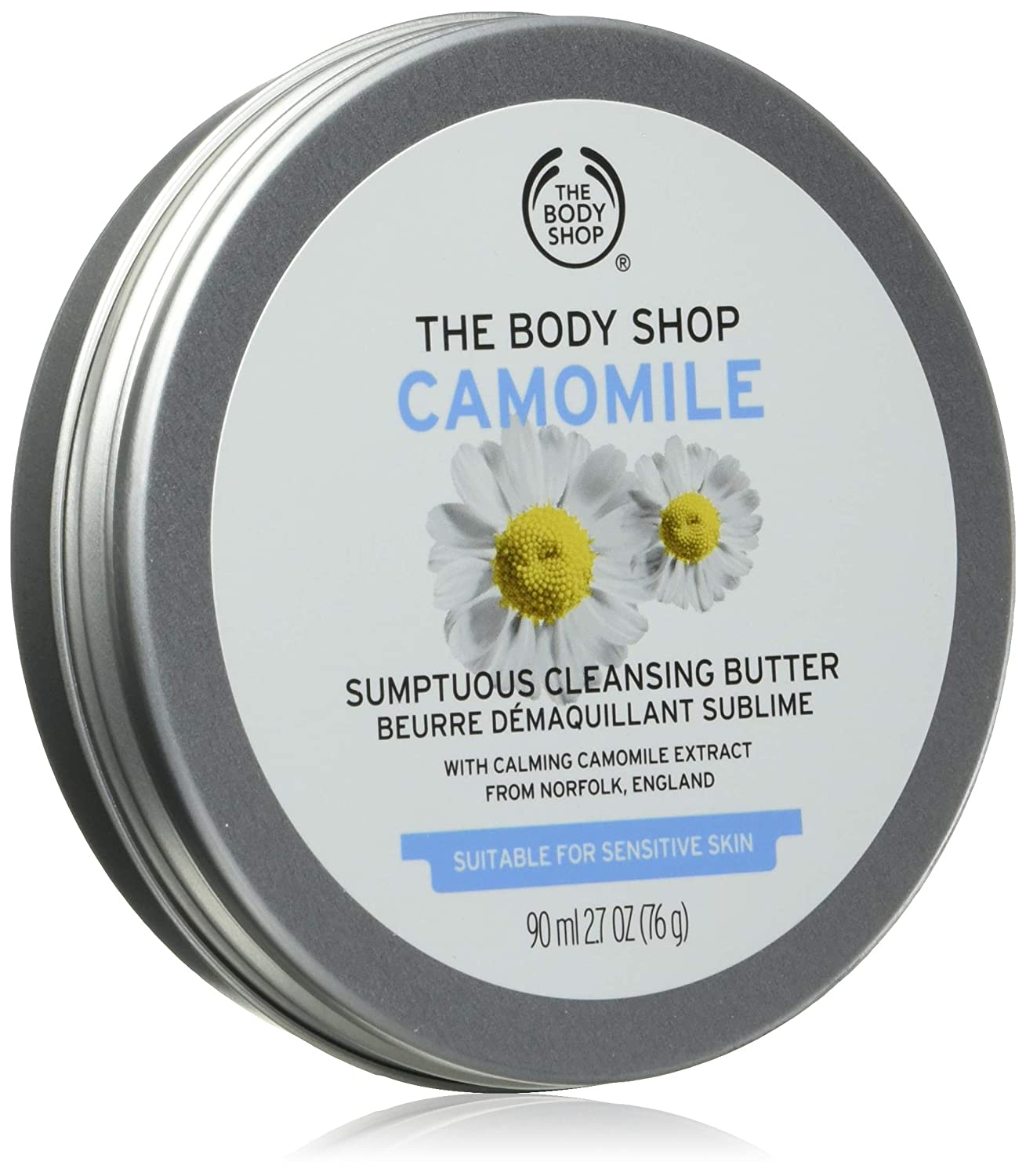 The Body Shop Camomile Sumptuous Cleansing Butter, 2.7 Oz