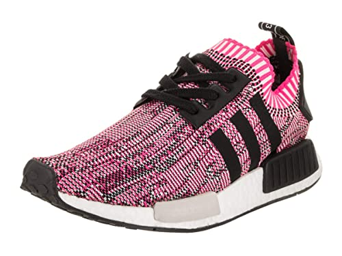 284ff78ee210 NMD R1 Primeknit Womens in Shock Pink Core Black by Adidas  ADIDAS   Amazon.ca  Shoes   Handbags