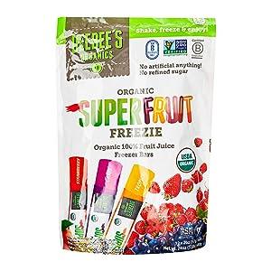 Deebees, Freezer Bars Superfruit Organic 12 Count, 24 Ounce